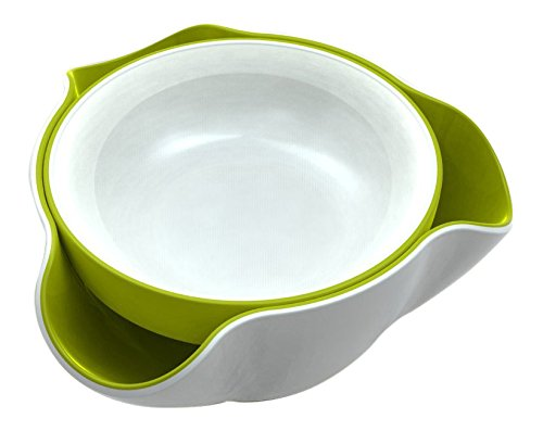 Joseph Joseph Double Dish - White/Green