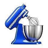KitchenAid Mini 250W 3.3L Azul - Robot de cocina (3,3 L, Azul, palanca, 200 RPM, 1,219 m, CC)