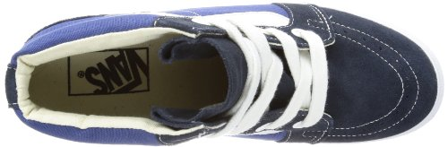 Vans  U SK8-HI WEDGE NAVY/TRUE WHITE, basket adulte mixte Bleu - Blau (navy/true white)