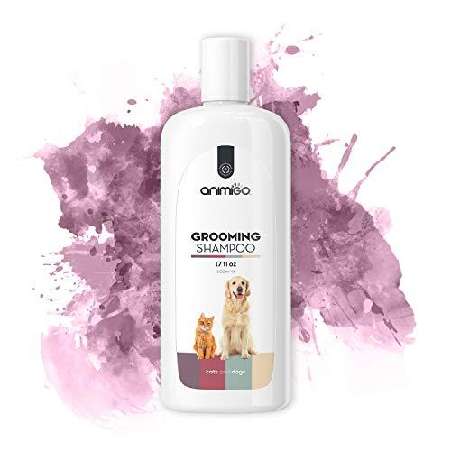 Animigo Pflege Shampoo | Für Hunde & Katzen | Hundeshampoo | Hunde Shampoo Fellpflege | Fellpflege für Katzen | Hundeshampoo gegen Juckreiz für Hunde | Hundeshampoo gegen Geruch | 502 ml -