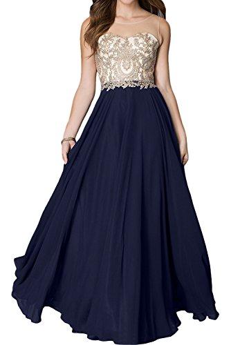 Ivydressing -  Vestito  - linea ad a - Donna blu navy