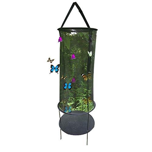 Garden Insect Fütterungsnetz Butterfly Insect Breeding Mesh Cage mit seitlichem Reißverschluss - Butterfly Garden Tray