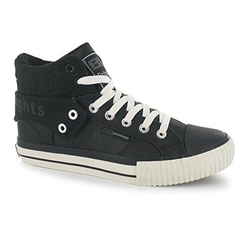 British Knights Roco Damen Turnschuhe High Freizeit Schuhe Sneaker Sportschuhe -