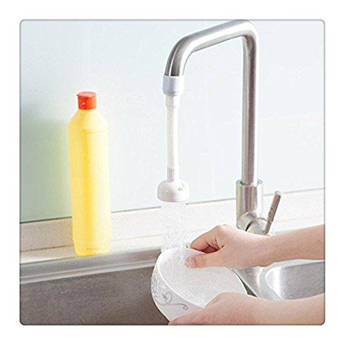 FTXJ Küchenarmatur Bad Dusche Spritzschutz Filter Wasserhahn Wassersparkopf height 16.5cm Weiß C - Beliebte Kochgeschirr
