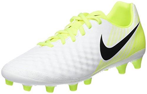 Nike Herren Magista Onda Ii Ag-Pro Fußballschuhe Weiß (White/Black-Volt-Pure Platinum)