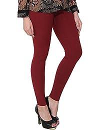dcd379b39e065 Purples Women's Leggings: Buy Purples Women's Leggings online at ...
