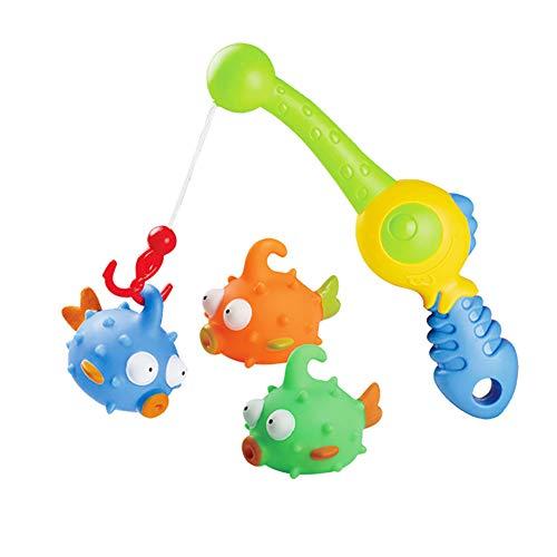 RIsxffp Badespielzeug, schwimmende Squirts für Wasser und Fische, Angeln, Bad, Kinder, Spielzeug für Kinder 1# -