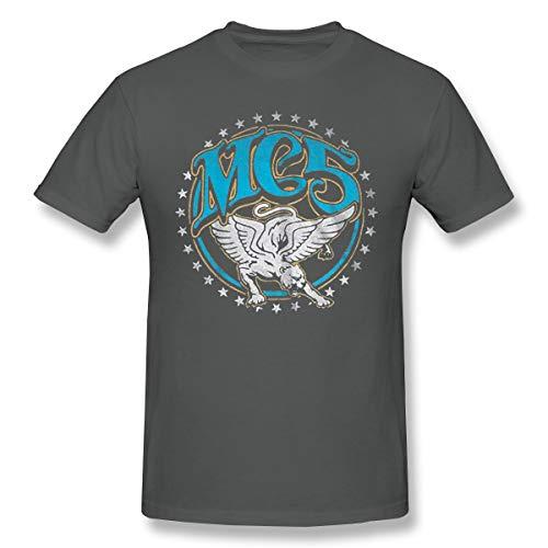Mc5 Panther (Fomente MC5 'White Panther' Herren Weich T-Shirt Deep Heather 5XL)