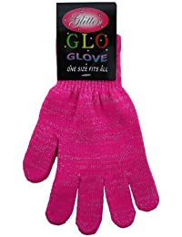 Neon Glitter Glo Magic Gloves With Lumix Thread Available In 4 Colours