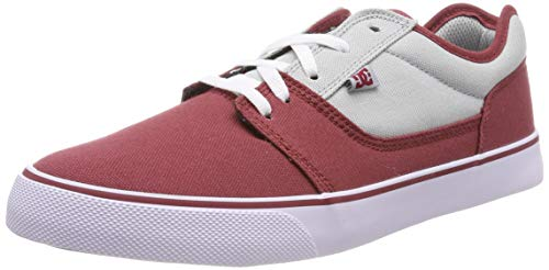 DC Shoes Herren Tonik TX Skateboardschuhe, Rot (Dark red DRK), 43 EU
