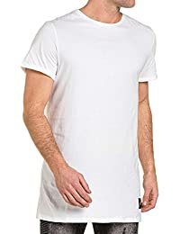 Sixth June - Tee-shirt homme blanc uni oversize