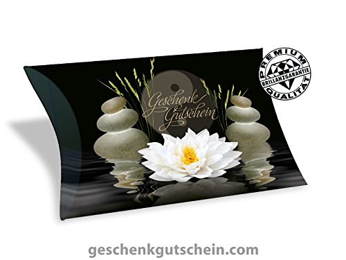50 Stk. Premium Gutschein Boxen für Kosmetik, Wellness, Massage, Spa MA313, LIEFERZEIT 2 bis 4 Werktage ! (Massage Spa Und)