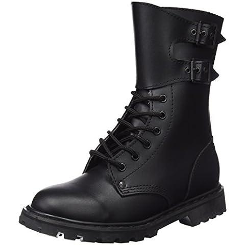 Armyoutdoorshop - Botas militares francesas (talla 41 a 47) negro Talla:41
