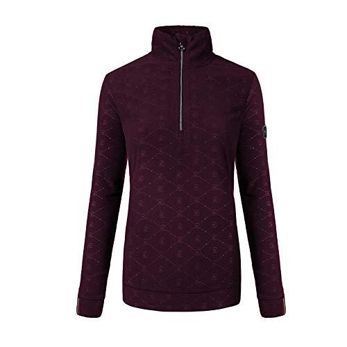 Cavallo Oviedo Damen Fleece-Shirt wild Berry HW 19, Ca19_HW_Gr.:38