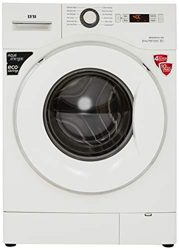 IFB 6.5 kg Fully-Automatic Front Loading Washing Machine (Senorita WX, White, Inbuilt Heater, Aqua Energie water softener)