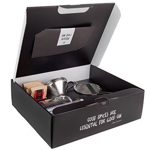 Just Spices Gin Set, Gewürze Kit, 1er Pack (1 x 80 g)