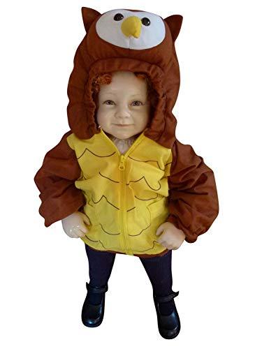 PUS Eule-n Kostüm-e Baby F89 86-92, Kat. 1, Achtung: B-Ware Artikel. Bitte Artikelmerkmale lesen! kleine Kind-er Babies Tier-e Mädchen Junge-n Fasching-s Karneval-s Fasnacht-s Geburtstags- Geschenk- (Baby Kostüm Für Eule)