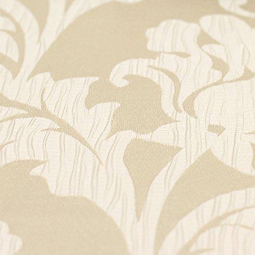 Just Contempo - Tende plissettate e Foderate, in Jacquard, Finitura Satinata, Paio di Tende 117 x 183 cm (Moderno), Naturale (Panna)