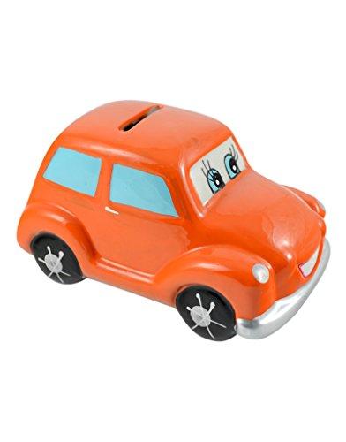 Home Line Hucha Infantil de cerámica - Modelo Coche (7.5x7.5x13cm)