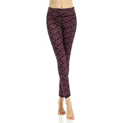 Feidaeu Pantalones de Yoga Medias Deportivas Elásticas, cómodas, Tra