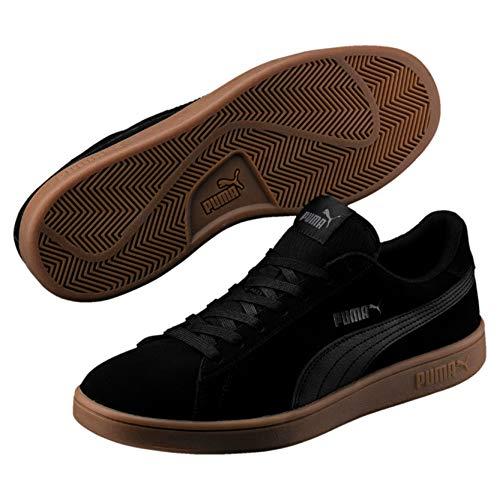 Puma Puma Smash v2, Unisex-Erwachsene Sneakers, Schwarz (Puma Black-puma Black), 42.5 EU