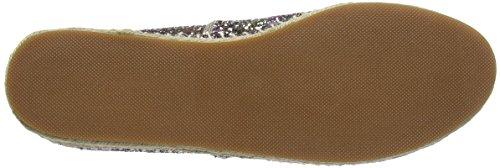 STEVEN by Steve Madden Peppa-g Espadrille, Espadrilles femme Multicolour (Multi Glitter)