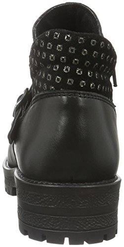 Marc Shoes Damen Melissa Biker Boots Schwarz (black-combi 00064)
