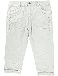Only Shorts Nynne Gr.40,42,44 NEU Damen Hose Kurz Schwarz-Weiß Stretch