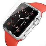 42 mm Apple Watch Vidrio auténtico marco protector de la seguridad de pantalla de cristal protector de la pantalla del protector de vidrio templado 9H de PhoneStar