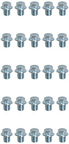 KS tools ölablassschraube außen6kant, 14 mm, m12 x 1,25 x 13 mm-pack de 25 pièces, 430.2012