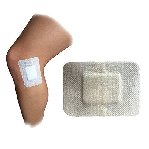 25x steropore 8,6cm x 6.0cm Premium Medical Grade 100% Steril groß Wunde Schnitt Verbrennungen Pflaster Weiß (Sterile Klebestreifen)