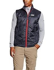 Helly Hansen Hp Insulator Vest - Chaleco para hombre, color azul, talla L