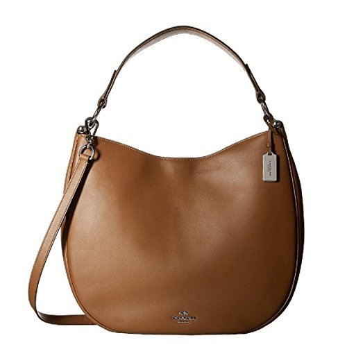 Coach Nomad Ladies Large Leather Hobo Shoulder Bag 36026 (Coach Hobo)