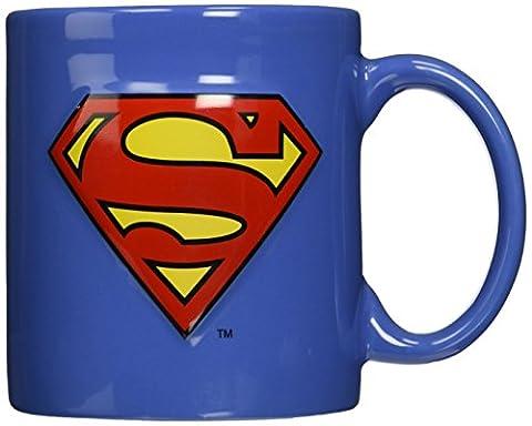 Superman Embossed Logo 14 Ounce Mug
