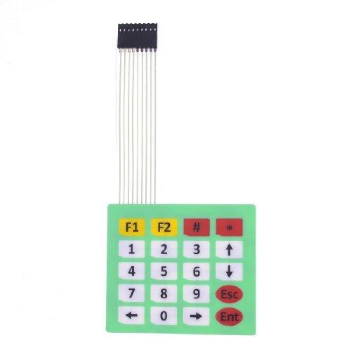 Amico - Membrana interruttore; chiave Tipo : 4 x 4; tensione : DC (Amici Pacchetto)