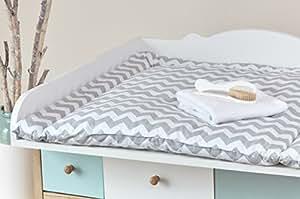 force kids matelas langer chevron gris diff rentes tailles 75 x 70 cm 78 x 78 cm 60 x 70 cm. Black Bedroom Furniture Sets. Home Design Ideas