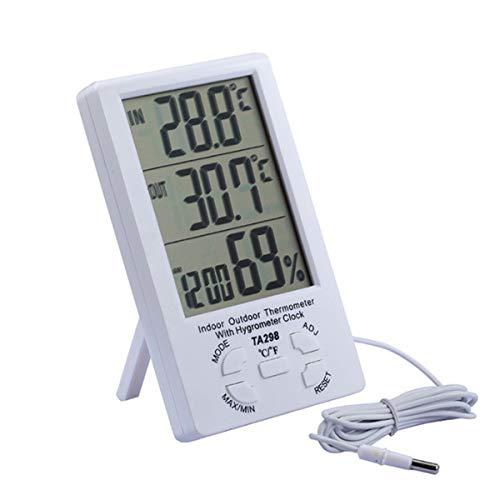 ChaRLes Großbild-Thermometer Hygrometer Indoor Outdoor Digital Display Dual Temperatur Display Thermometer