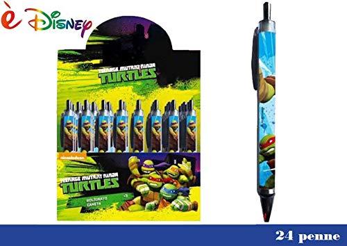 Clip-Stifte Ninja Turtles. Anzeige 24 Stck