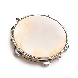 Capoeira Leder Pandeiro Schlagzeug Tamburin Samba Brasil Holz Musikinstrument 8