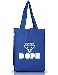 Dreieck Diamant Diamond Sport Turnbeutel Rucksack Shirtstreet24 DOPE TRIANGLE