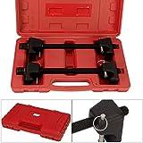 Shoze 2pcs Coil Spring Compressor 300mm for MacPherson Struts Shock Absorber Garage Tool