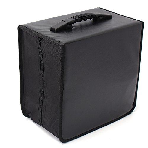 520 Discs CD DVD DJ Wallet Holder Bag Case Album Organizer Media Storage 520 Cd Wallet