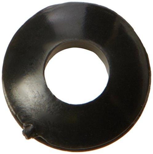 50 PCS Noir 5,5 x 11 mm avec joint en caoutchouc, Passe-Cable de protection d'écran