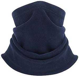XQxiqi689sy Warme Radsportmaske, zum Wandern, für den Winter, Hals, Stirnband, Bandana Navy