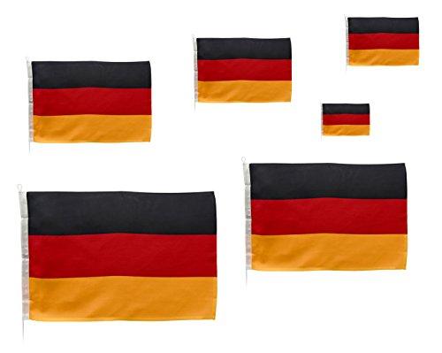 Navyline Gastlandflagge Deutschland, Größe:30 x 45 cm