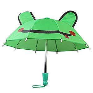 Puppenzubehör , YUYOUG Regenschirm Zubehör für 18 Zoll American Girl / Baby Born Dolls Handmade Outdoor Kinder Mädchen Spielzeug Weihnachten Geburtstagsgeschenk
