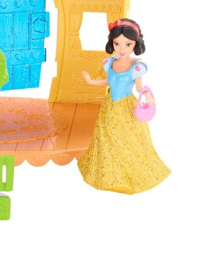 Mattel Disney Princess Little Kingdom MagiClip Snow White Playset