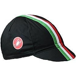 Castelli Retro 2sombrero, Hombre, Retro 2 Cap, negro, Talla única