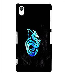PrintDhaba Dragon D-1013 Back Case Cover for SONY XPERIA Z2 (Multi-Coloured)