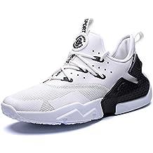 GJRRX Zapatillas Deporte Hombre Zapatos de Entrenamiento para Hombre Malla Respirable Zapatillas Aptitud Ligero Deportes Zapatos